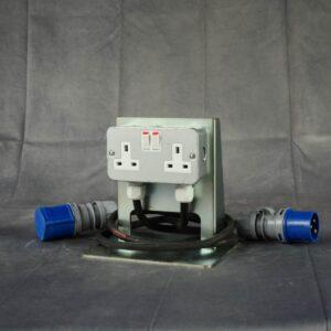 Twin 13A Socket